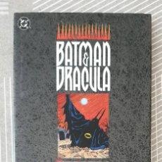 Cómics: BATMAN & DRACULA. LLUVIA ROJA DE DOUG MOENCH & KELLEY JONES. ZINCO 1993. Lote 223380745