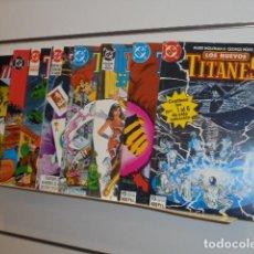 Comics: LOS NUEVOS TITANES VOL. 2 COMPLETA 41 NUMEROS EN 8 TOMOS RETAPADOS - ZINCO. Lote 223404252