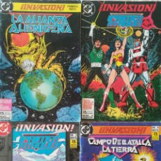 Cómics: INVASION LA ALIANZA ALIENIGENA 1,2,3,4. Lote 223488111