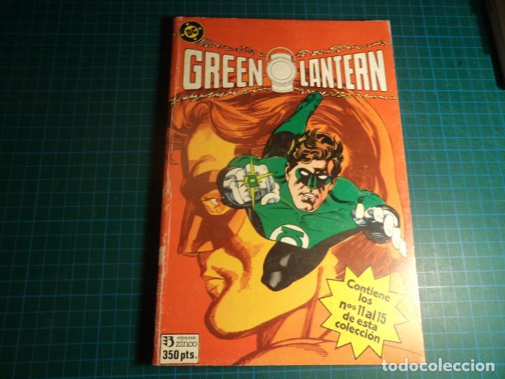 GREEN LANTERN. RETAPADO. CONTIENE LOS NUMEROS 11 AL 15. (S2) (Tebeos y Comics - Zinco - Retapados)