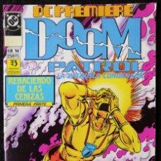 Cómics: DC PREMIERE Nº 14 - DOOM PATROL LA PATRULLA CONDENADA - ZINCO 1990 ''MUY BUEN ESTADO''. Lote 223746645