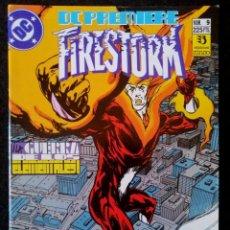 Cómics: DC PREMIERE Nº 9 - FIRESTORM - GUERRA DE LOS ELEMENTALES - ZINCO 1989 ''MUY BUEN ESTADO''. Lote 223747713