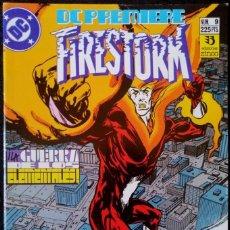 Cómics: DC PREMIERE Nº 9 - FIRESTORM - GUERRA DE LOS ELEMENTALES - ZINCO 1989 ''MUY BUEN ESTADO''. Lote 223747980