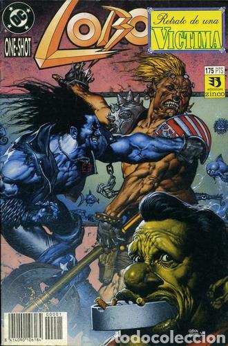 LOBO. RETRATO DE UNA VÍCTIMA (EDICIONES ZINCO) (Tebeos y Comics - Zinco - Lobo)