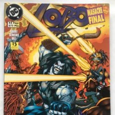 Comics : LOBO. MASACRE FINAL (EDICIONES ZINCO). Lote 223766276