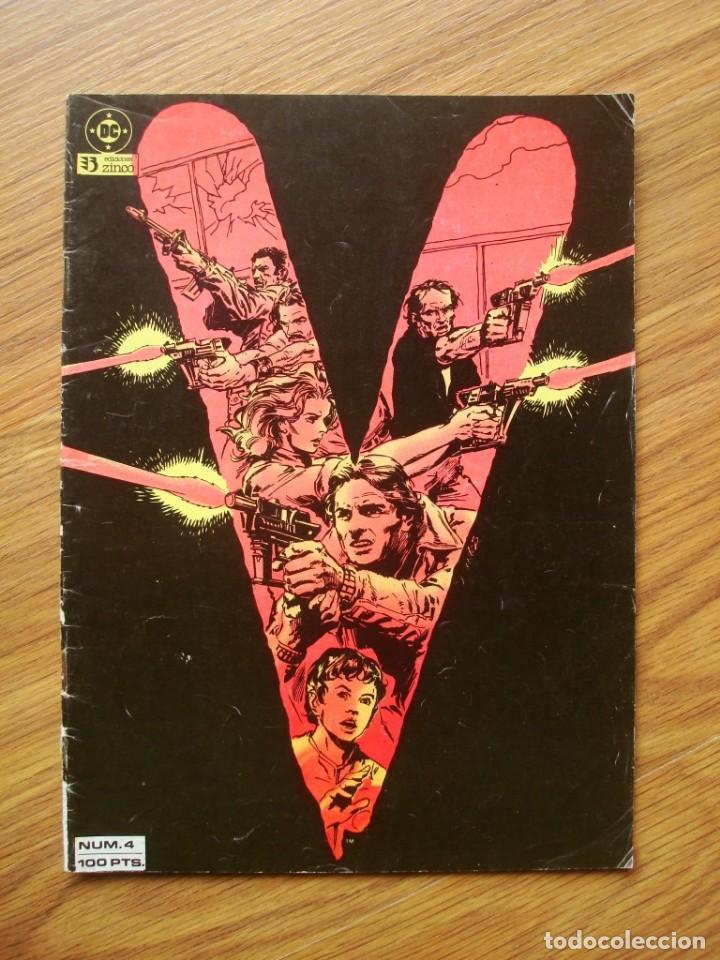 V Nº 4 (LOS VISITANTES) ZINCO (Tebeos y Comics - Zinco - Otros)