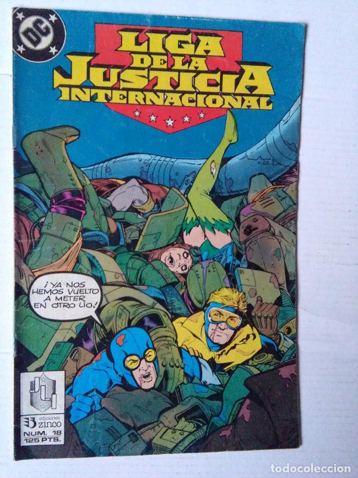 LIGA DE LA JUSTICIA 18-ZINCO (Tebeos y Comics - Zinco - Liga de la Justicia)