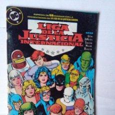 Cómics: LIGA DE LA JUSTICIA 19-ESPECIAL 68 PAGINAS-ZINCO. Lote 223832967