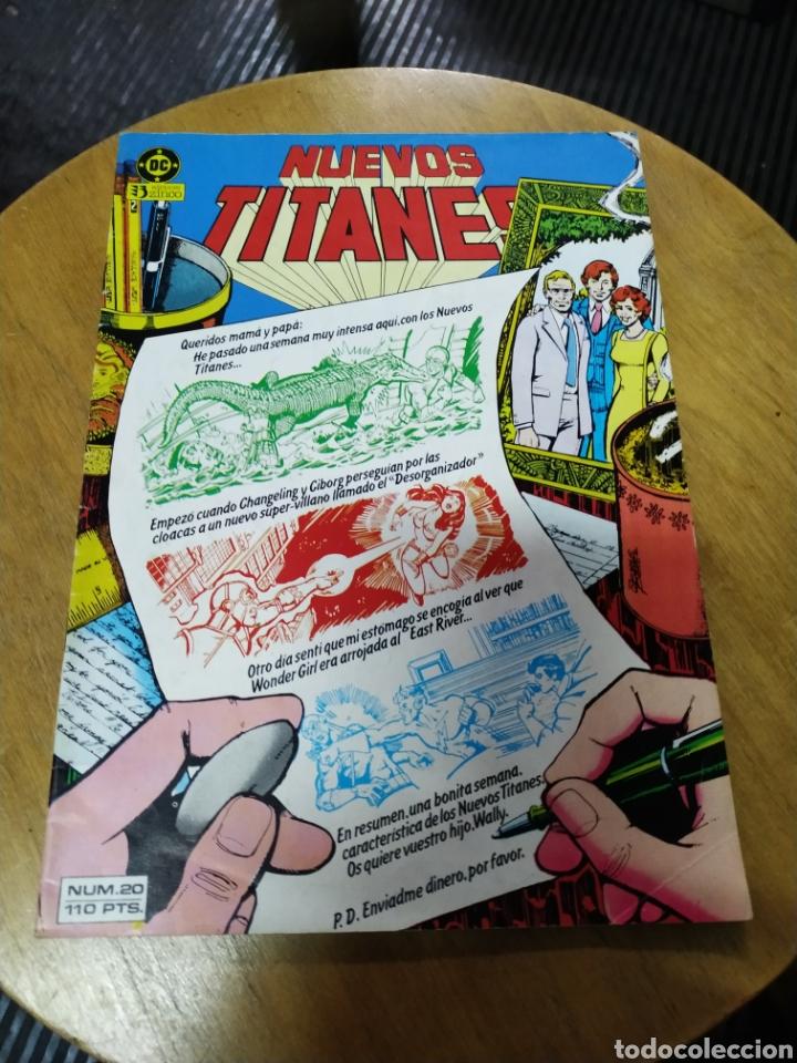 NUEVOS TITANES VOL 1 LOTE DE 8 NÚMEROS (ZINCO) (Tebeos y Comics - Zinco - Nuevos Titanes)