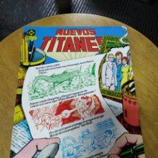 Cómics: NUEVOS TITANES VOL 1 LOTE DE 8 NÚMEROS (ZINCO). Lote 223909727