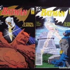 Cómics: BATMAN EL ENIGMA CLAYFACE COMPLETA-ZINCO. Lote 223943293