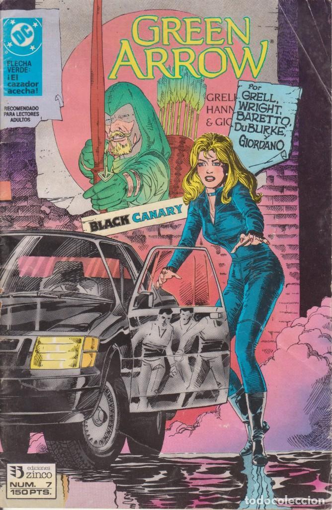 CÓMIC DC GREEN ARROW Nº 7 ED. ZINCO (GRELL, WRIGHT BARETTO, DUBURKE, GIORDIANO) (Tebeos y Comics - Zinco - Otros)