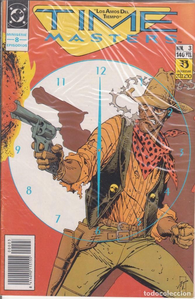 CÓMIC DC TIME MASTERS Nº 3 ED. ZINCO ( WAYNE SHINER, THIBERT & MARZAN) (Tebeos y Comics - Zinco - Otros)