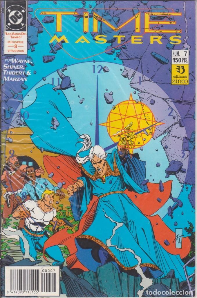 CÓMIC DC TIME MASTERS Nº 7 ED. ZINCO ( WAYNE SHINER, THIBERT & MARZAN) (Tebeos y Comics - Zinco - Otros)