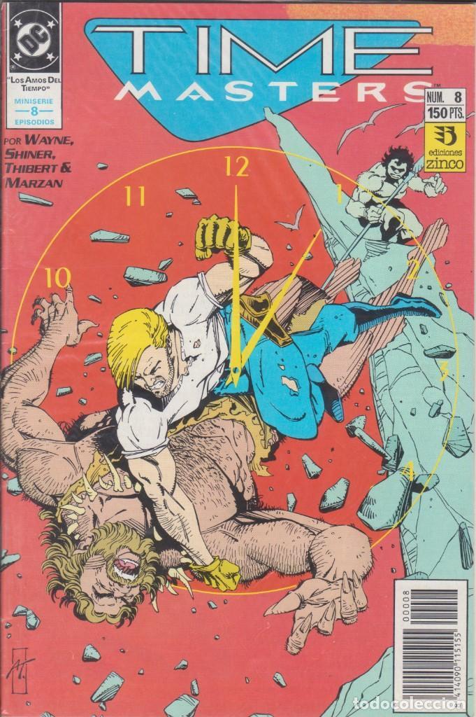 CÓMIC DC TIME MASTERS Nº 8 ED. ZINCO ( WAYNE SHINER, THIBERT & MARZAN) (Tebeos y Comics - Zinco - Otros)