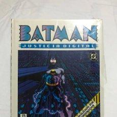 Cómics: BATMAN: JUSTICIA DIGITAL - PEPE MORENO - TAPA DURA Y SOBRECUBIERTA - ZINCO 1990. NUEVO PRECINTADO.. Lote 264074550