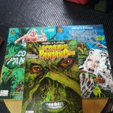 Comics: LA COSA DEL PANTANO LOTE 3 N° 1-2-3 (ZINCO). Lote 224057138
