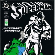 Cómics: SUPERMAN ¡INTERGANG REGRESA!. Lote 224058186