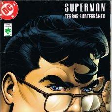 Cómics: SUPERMAN TERROR SUBTERRANEO. Lote 224058296