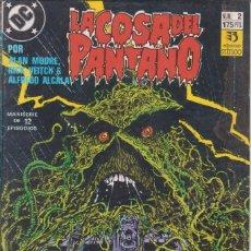 """Cómics: CÓMIC DC """"LA COSA DEL PANTANO"""" Nº 2 ED. ZINCO ( ALAN MOORE, RICK VEITCH,ALFREDO ALCALA). Lote 224112558"""