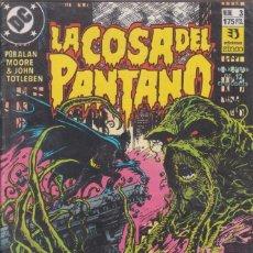 """Cómics: CÓMIC DC """"LA COSA DEL PANTANO"""" Nº 3 ED. ZINCO ( ALAN MOORE, JOHN TOTLEBEN). Lote 224112941"""