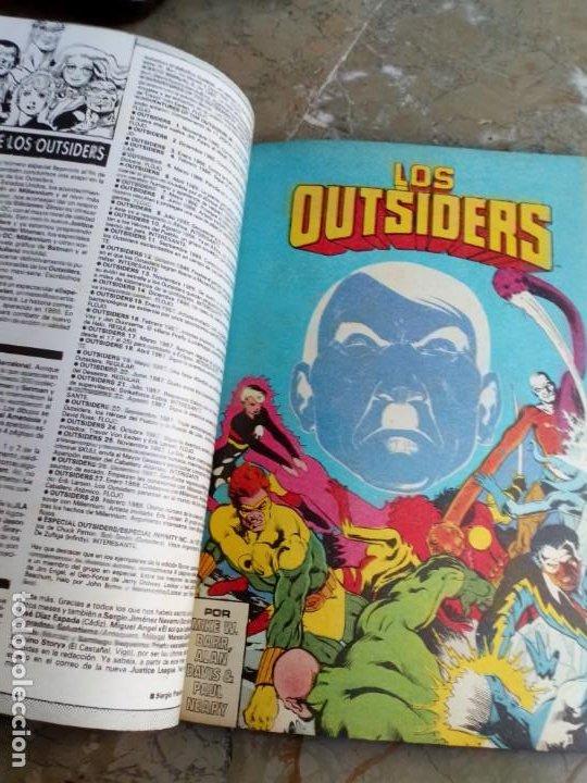 Cómics: Los Outsiders Retapado Nº 6 ZINCO (contiene los Nº 25-26 y especial verano 88) - Foto 2 - 224641640