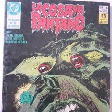 Cómics: COSA DEL PANTANO-IV SAGA- Nº 9 -LONGITUD DE ONDA-ALAN MOORE-RICK VEITCH-1991-ESCASO-LEA-4006. Lote 224664018