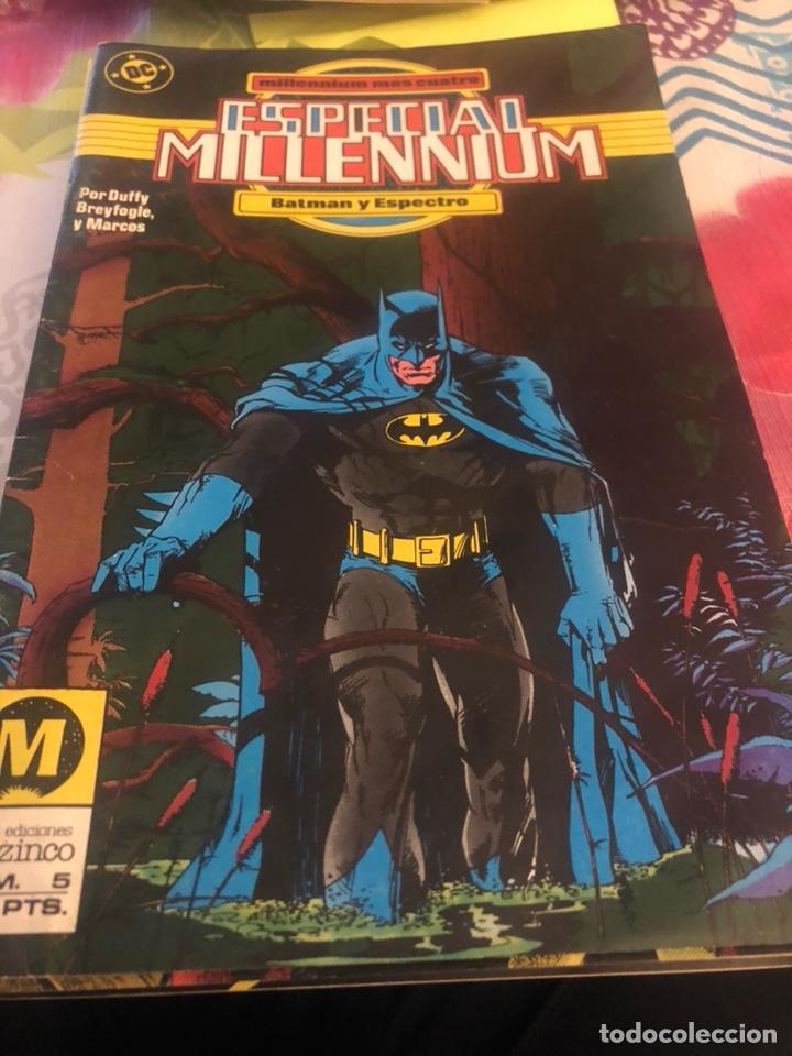 LOTE DE 8 CÓMICS, ESPECIAL MILLENIUM (Tebeos y Comics - Zinco - Millenium)