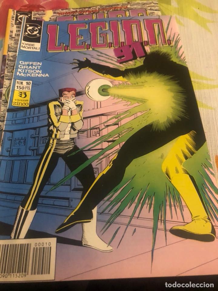 Cómics: Lote de 3 cómics DC legión - Foto 2 - 224787408
