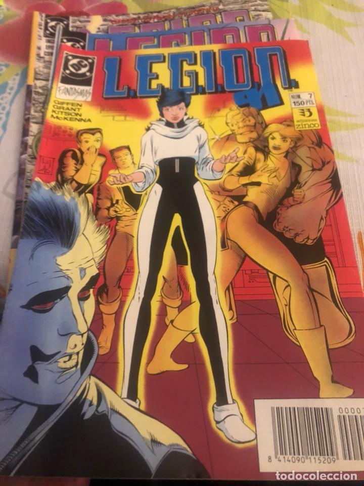 LOTE DE 3 CÓMICS DC LEGIÓN (Tebeos y Comics - Zinco - Legión 91)