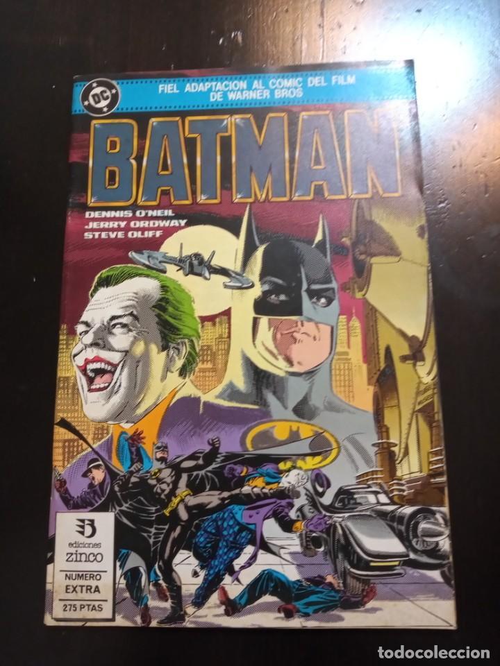 BATMAN : ADAPTACIÓN DEL FILM DE WARNER BROS (Tebeos y Comics - Zinco - Batman)