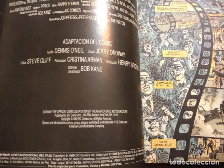 Cómics: Batman : Adaptación del Film de Warner Bros - Foto 5 - 222093275