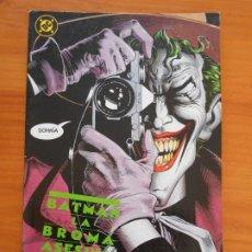 Comics: BATMAN - LA BROMA ASESINA - ALAN MOORE - DC - ZINCO (8I). Lote 224847571