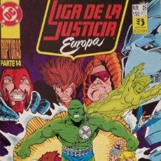 Comics : LIGA DE LA JUSTICIA EUROPA (NUM. 35). Lote 225113860