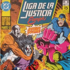 Comics : LIGA DE LA JUSTICIA EUROPA (NUM. 34). Lote 225113955