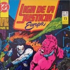 Comics : LIGA DE LA JUSTICIA EUROPA (NUM. 33). Lote 225114058