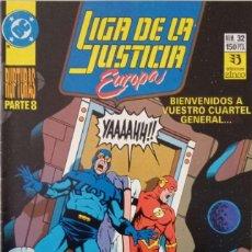 Comics : LIGA DE LA JUSTICIA EUROPA (NUM. 32). Lote 225114195