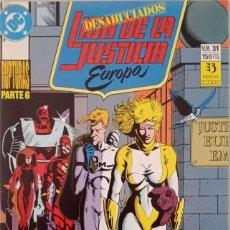 Comics : LIGA DE LA JUSTICIA EUROPA (NUM. 31). Lote 225114446