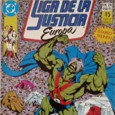 Comics : LIGA DE LA JUSTICIA EUROPA (NUM. 28). Lote 225114690