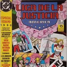 Cómics: LIGA DE LA JUSTICIA AMERICA. ESPECIAL VERANO (NUM. 4). Lote 225116216