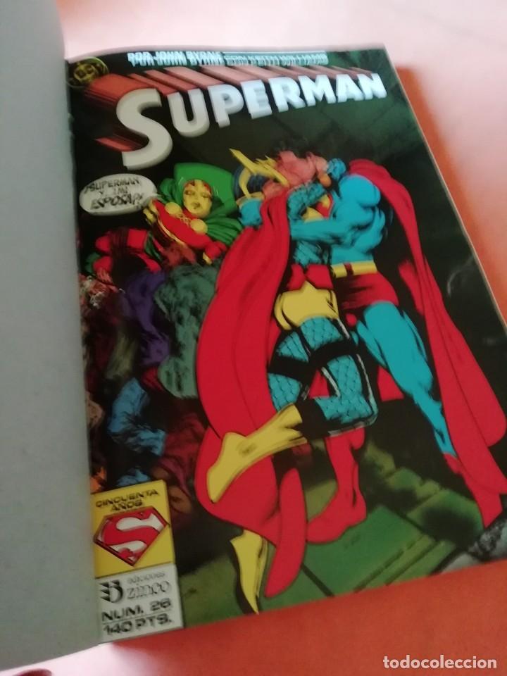 Cómics: SUPERMAN. JOHN BYRNE. RETAPADO Nº 14. EDICIONES ZINCO. Nº 26 AL 30. - Foto 5 - 225119400