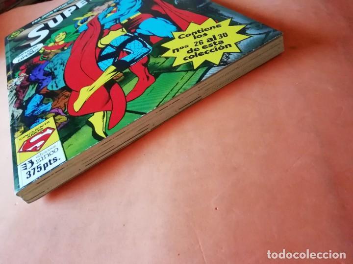 Cómics: SUPERMAN. JOHN BYRNE. RETAPADO Nº 14. EDICIONES ZINCO. Nº 26 AL 30. - Foto 3 - 225119400