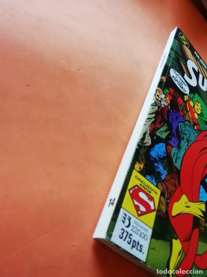 Cómics: SUPERMAN. JOHN BYRNE. RETAPADO Nº 14. EDICIONES ZINCO. Nº 26 AL 30. - Foto 4 - 225119400