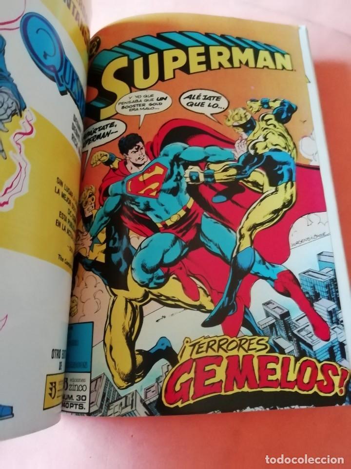 Cómics: SUPERMAN. JOHN BYRNE. RETAPADO Nº 14. EDICIONES ZINCO. Nº 26 AL 30. - Foto 6 - 225119400