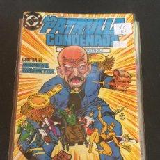 Cómics: ZINCO DC LA PATRULLA CONDENADA NUMERO 16 NORMAL ESTADO. Lote 225125711
