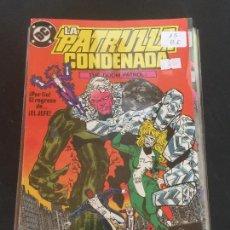 Cómics: ZINCO DC LA PATRULLA CONDENADA NUMERO 15 NORMAL ESTADO. Lote 225125810