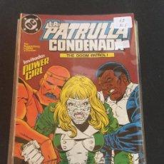 Cómics: ZINCO DC LA PATRULLA CONDENADA NUMERO 12 NORMAL ESTADO. Lote 225125910