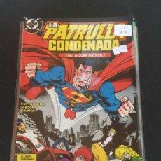 Cómics: ZINCO DC LA PATRULLA CONDENADA NUMERO 10 NORMAL ESTADO. Lote 225125926