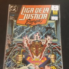 Cómics: ZINCO DC - LIGA DE LA JUSTICIA DE EUROPA NUMERO 9 NORMAL ESTADO. Lote 225129560