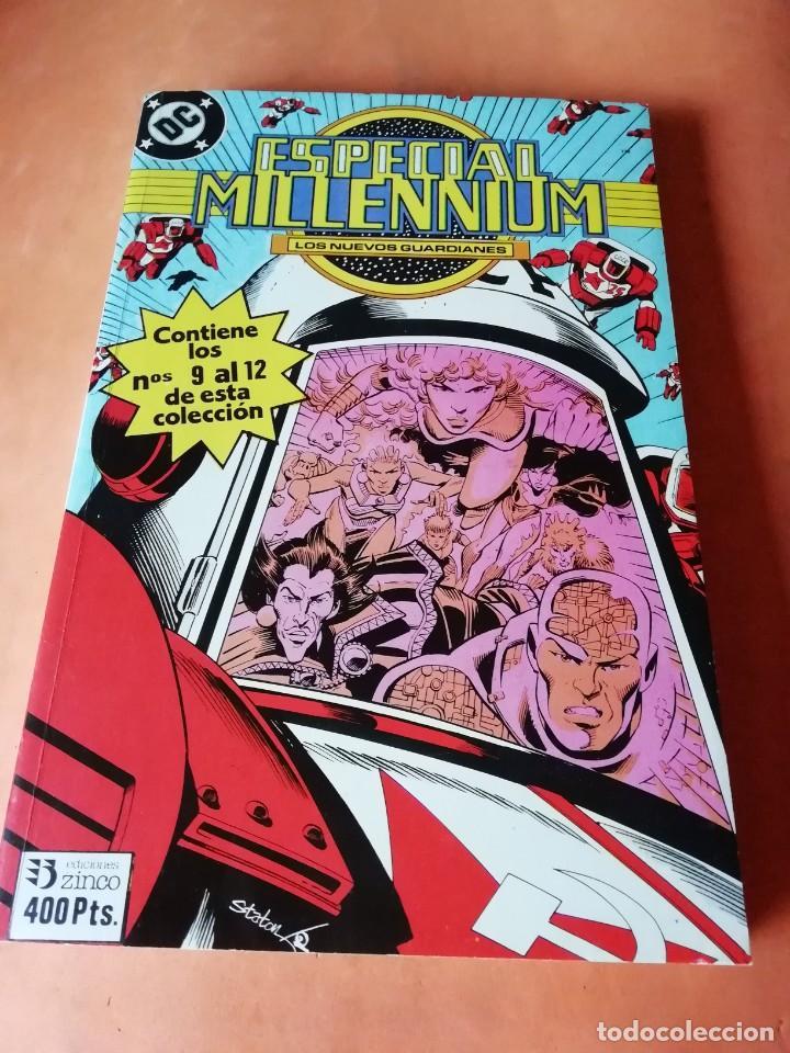 ESPECIAL MILLENNIUM. LOS NUEVOS GUARDIANES. EDICIONES ZINCO. RETAPADO. Nº 9 AL 12. (Tebeos y Comics - Zinco - Otros)